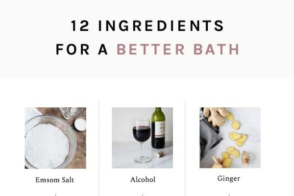 12 DIY Bath Ingredients for Soft Skin, Detox + More image 1