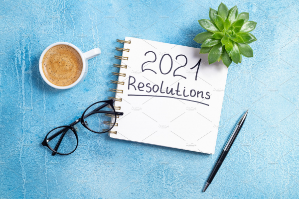 Top 6 New Year's Resolutions