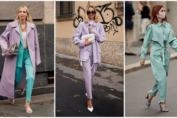 March Fashion Trends,Sorbet Pastel Tones
