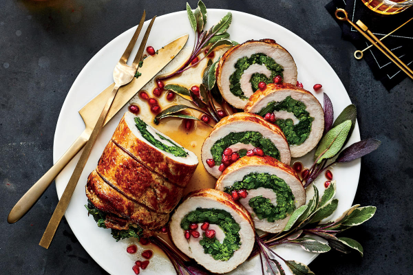 Roasted Pork Loin Stuffed with Prosciutto and Broccoli Rabe post image on the-journal.es