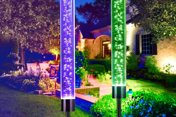 Solar Bubble Stake Lights