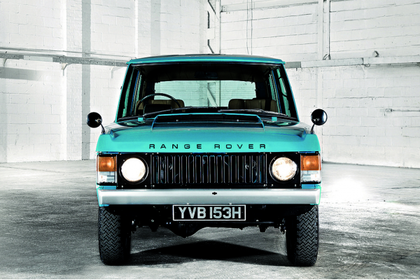 Golden oldie: The Range Rover