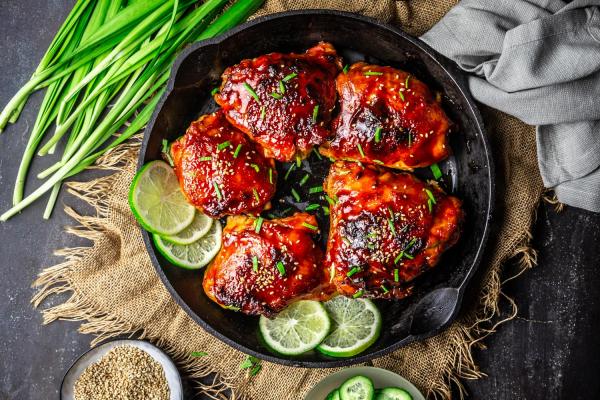 Korean chilli, sesame & honey chicken post image on the-journal.es