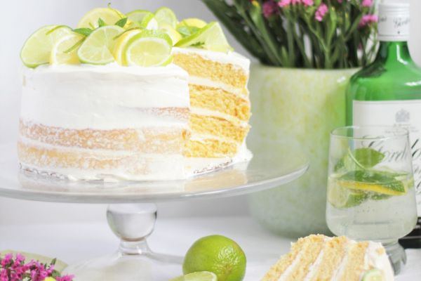 Gin & tonic cake post image on the-journal.es