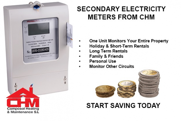 What is a secondary electricity meter and when would need one?