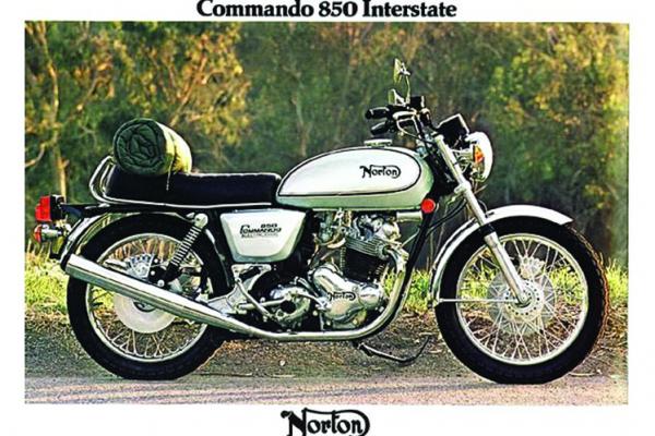 Classic 1977 Norton Commando image 1