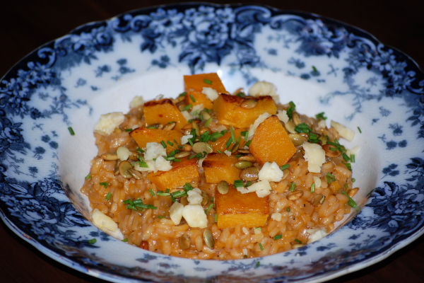 Roasted squash risotto with wensleydale post image on the-journal.es