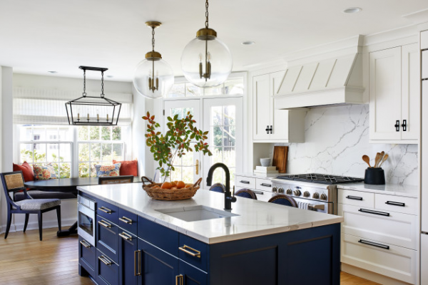 Navy Kitchen Ideas – To Add An Element of Rich Colour and Sophistication image 1